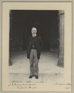 John Archibald Murray Macdonald, by Benjamin Stone - NPG x31582