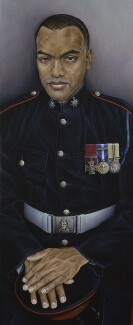 Johnson Gideon Beharry, by Emma Wesley, 2006 - NPG  - © National Portrait Gallery, London