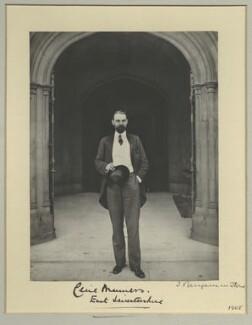 Lord Cecil Reginald John Manners, by Benjamin Stone - NPG x31609