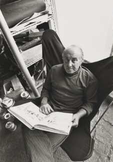 Feliks Topolski, by Bob Collins - NPG x126190