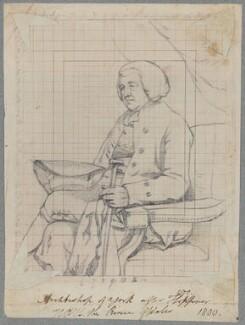 William Markham, by Henry Bone, after  John Hoppner - NPG D17449