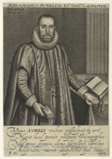 Abraham Aurelius, by Robert van Voerst, after  Unknown artist - NPG D23453