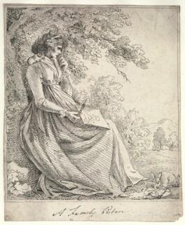 Probably a member of the Boissier family, by Maria Boissier - NPG D23454