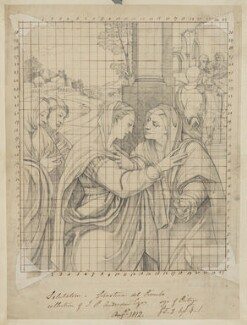 Visitation, by Henry Bone, after  Sebastiano del Piombo - NPG D17459