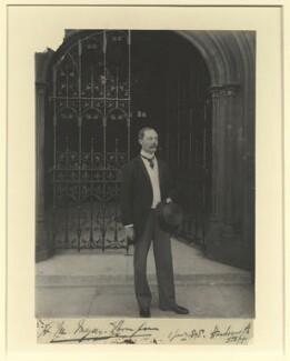 Henry Meysey Meysey-Thompson, 1st Baron Knaresborough, by Benjamin Stone - NPG x32513