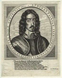 Thomas Fairfax, 3rd Lord Fairfax of Cameron, published by Sebastian Furck, after  Robert Walker - NPG D23412