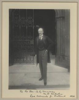 Andrew Graham Murray, 1st Viscount Dunedin, by Benjamin Stone - NPG x32569