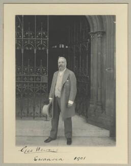 Sir George Newnes, 1st Bt, by Benjamin Stone - NPG x32574