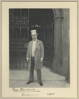 Sir George Newnes, 1st Bt, by Benjamin Stone - NPG x32575