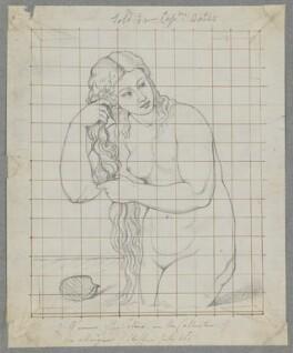 'Venus Anadyomene', by Henry Bone, after  Titian - NPG D17499
