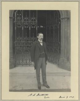 Henry Stafford Northcote, Baron Northcote, by Benjamin Stone - NPG x32927