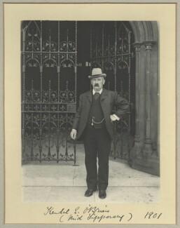 Kendal Edmund O'Brien, by Benjamin Stone - NPG x32931