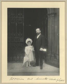 Annette Ward; Patrick O'Brien, by Benjamin Stone - NPG x33720