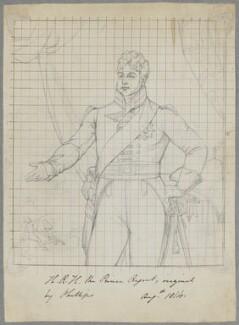 King George IV when Prince Regent, by Henry Bone, after  Thomas Phillips - NPG D17517