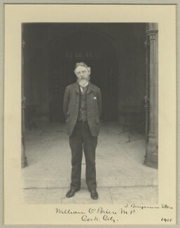 William O'Brien, by Benjamin Stone - NPG x33725