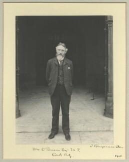 William O'Brien, by Benjamin Stone - NPG x33727