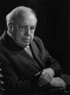 J.B. Priestley, by Godfrey Argent - NPG x21957