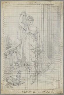 Louisa (née Beresford, later Hope), Viscountess Beresford, by Henry Bone, after  George Dawe - NPG D17526