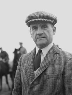 Sir Gordon Richards, by Godfrey Argent - NPG x166092