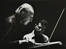 Leopold Boleslawowicz Stanislaw Antoni Stokowski, by Godfrey Argent - NPG x38813