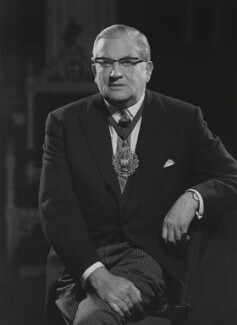 Sir (Arnold) Charles Trinder, by Godfrey Argent, 17 December 1968 - NPG x166112 - © National Portrait Gallery, London