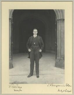 Herbert Pike Pease, 1st Baron Daryngton, by Benjamin Stone - NPG x33982