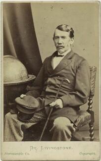 David Livingstone, by London Stereoscopic & Photographic Company - NPG x12432