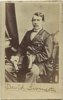 David Livingstone, after London Stereoscopic & Photographic Company - NPG x12464