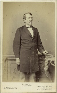 David Livingstone, by Maull & Co - NPG x76205