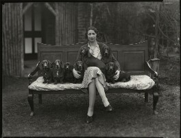 Elizabeth (née Vlasto), Countess of Northesk, by Bassano Ltd, 15 February 1934 - NPG  - © National Portrait Gallery, London