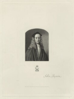 John Byrom, by James Posselwhite, after  Unknown artist, 19th century - NPG D23458 - © National Portrait Gallery, London
