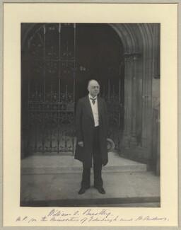Sir William Overend Priestley, by Benjamin Stone - NPG x34709