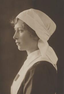 Princess Mary, Countess of Harewood, by Vandyk - NPG x17384