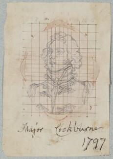 possibly Sir James Cockburn, 7th Bt, by Henry Bone, after  Arthur William Devis - NPG D17558