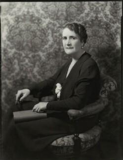 Dame Regina Evans, by Bassano Ltd - NPG x151046