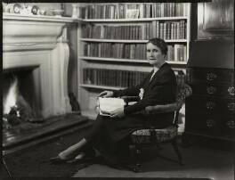 Dame Regina Evans, by Bassano Ltd - NPG x151048