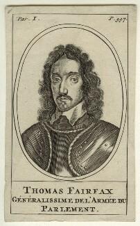 Thomas Fairfax, 3rd Lord Fairfax of Cameron, after Robert Walker - NPG D23418