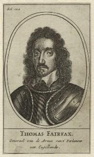 Thomas Fairfax, 3rd Lord Fairfax of Cameron, after Robert Walker - NPG D23419