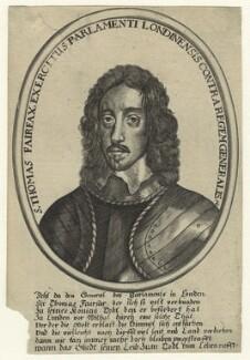 Thomas Fairfax, 3rd Lord Fairfax of Cameron, after Robert Walker - NPG D23425