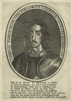 Thomas Fairfax, 3rd Lord Fairfax of Cameron, after Robert Walker - NPG D23426