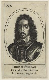 Thomas Fairfax, 3rd Lord Fairfax of Cameron, after Robert Walker - NPG D23421