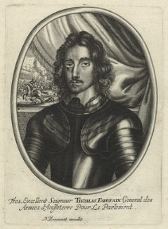 Thomas Fairfax, 3rd Lord Fairfax of Cameron, published by Balthasar Moncornet, after  Robert Walker - NPG D23430