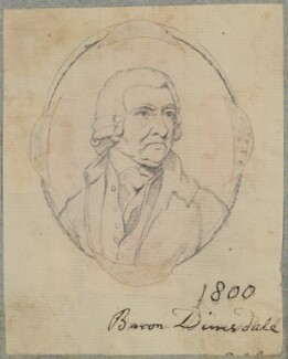 Thomas Dimsdale, by Henry Bone, possibly after  Andrew Plimer - NPG D17576