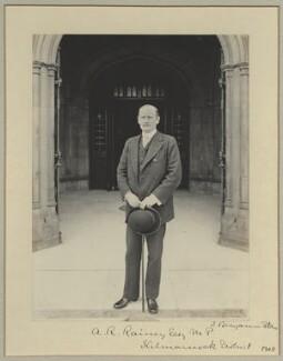 Adam Rolland Rainy, by Sir (John) Benjamin Stone, 1908 - NPG x35002 - © National Portrait Gallery, London