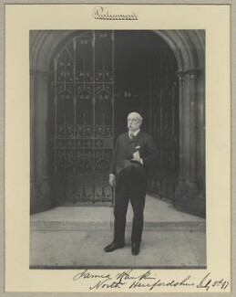 Sir James Rankin, 1st Bt, by Benjamin Stone - NPG x35006