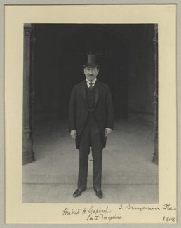 Sir Herbert Henry Raphael, 1st Bt, by Benjamin Stone - NPG x35007