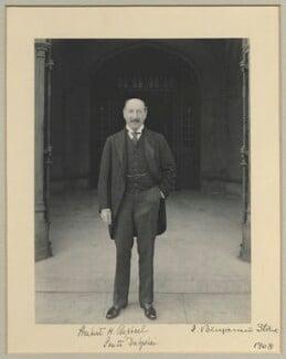 Sir Herbert Henry Raphael, 1st Bt, by Benjamin Stone - NPG x35008