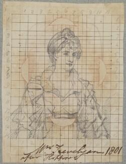 Maria Wilson Trevelyan, probably by Henry Pierce Bone, possibly after  John Hoppner - NPG D17585