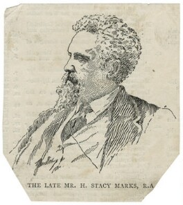 Henry Stacy Marks, after Unknown artist - NPG D23462