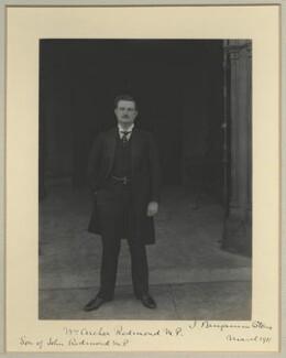 William Archer Redmond, by Benjamin Stone - NPG x35017